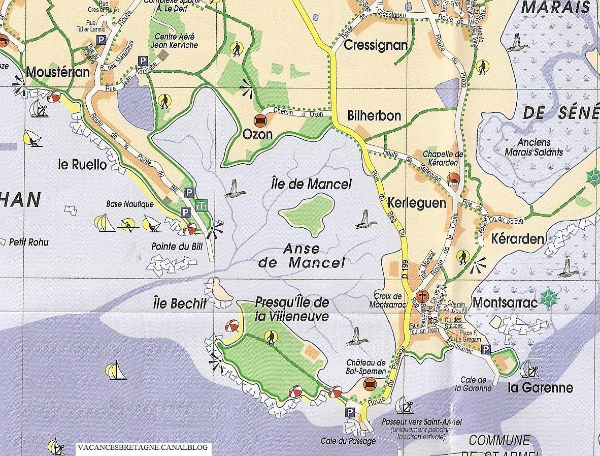 carte Montsarrac